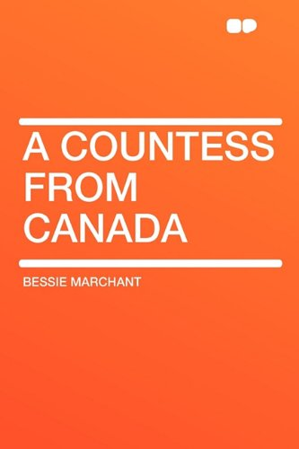9781407611617: A Countess from Canada