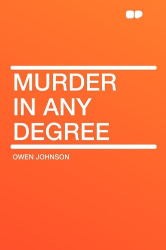 9781407612850: Murder in Any Degree