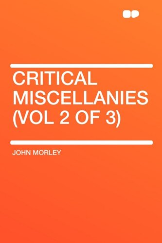 9781407617640: Critical Miscellanies (Vol 2 of 3)