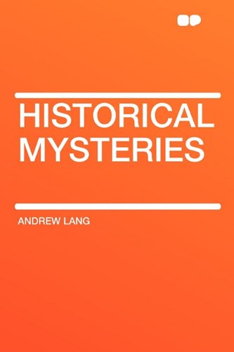 9781407618692: Historical Mysteries