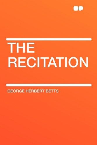 9781407618753: The Recitation