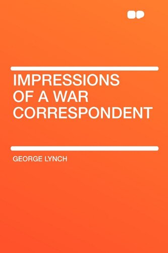 9781407621159: Impressions of a War Correspondent