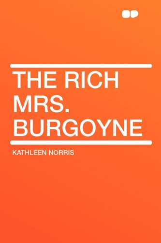 9781407624891: The Rich Mrs. Burgoyne