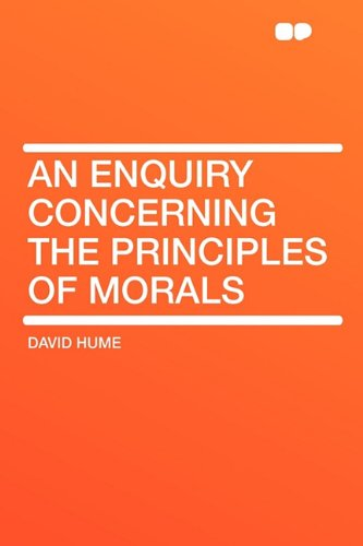 9781407625157: An Enquiry Concerning the Principles of Morals