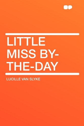 9781407635071: Little Miss By-The-Day