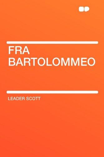 9781407642437: Fra Bartolommeo