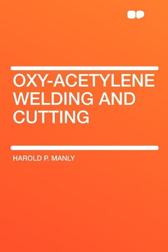 9781407646992: Oxy-Acetylene Welding and Cutting
