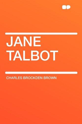Jane Talbot: Brown, Charles Brockden