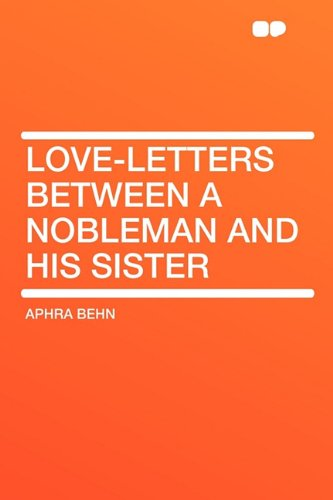 9781407648583: Love-Letters Between a Nobleman and His Sister