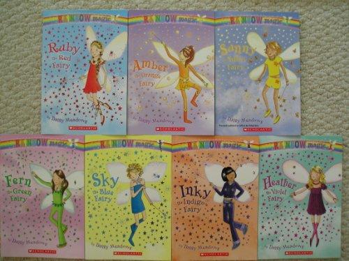 9781407810942: Complete Rainbow Magic Set (Fern the Green Fairy, Sky the Blue Fairy, Ruby the Red Fairy, Heather the Violet Fairy, Inky the Indigo Fairy, Sunny the Yellow Fairy, Amber the Orange Fairy)