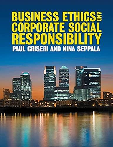 9781408007433: Business Ethics