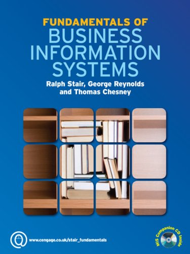 9781408008843: Fundamentals of Business Information Systems