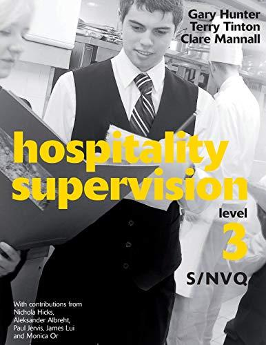 9781408009253: Hospitality Supervision: Level 3 S/NVQ