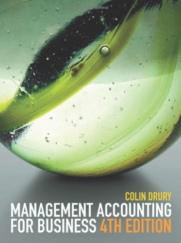 Management Accounting for Business: Drury, Colin