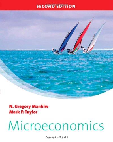Microeconomics: Mankiw, N. Gregory