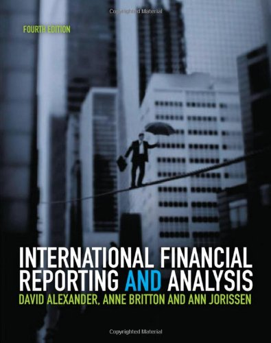 9781408017920: International Financial Reporting and Analysis