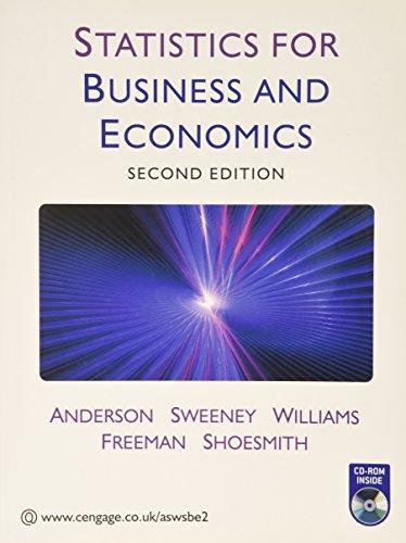 9781408018101: Statistics for Business and Economics