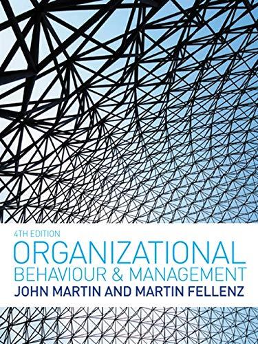 9781408018125: Organizational Behaviour and Management