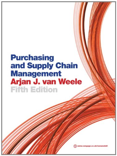 9781408018965: Purchasing and Supply Chain Management: Analysis, Strategy, Planning and Practice