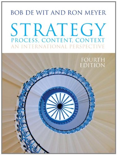 9781408019023: Strategy: Process, Content, Context