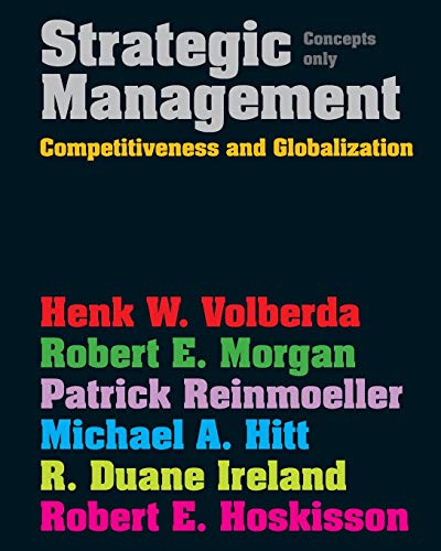 9781408019221: Strategic Management: Competitive & Globalisation: Concepts Only