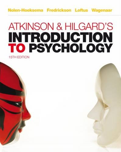 9781408032077: Atkinson & Hilgard's Introduction to Psychology