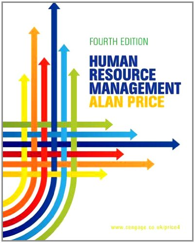 Human Resource Management. Alan Price (1408032244) by Alan Price