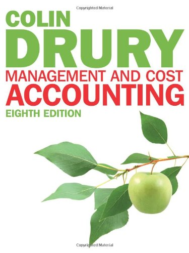 9781408041802: Management and Cost Accounting