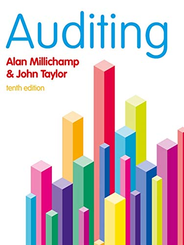 Auditing: Millichamp, A. H.;taylor,