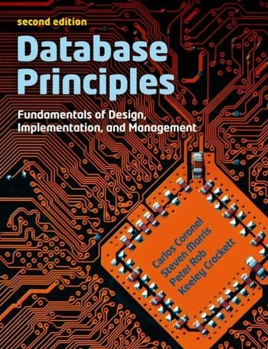 9781408048634: Database Principles: Fundamentals of Design, Implementations and Management (with CourseMate and eBook Access Card)