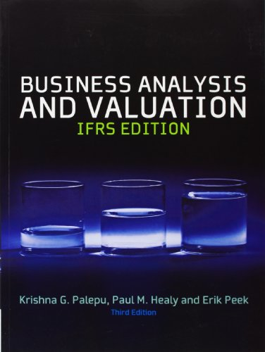 9781408056424: Business Analysis & Valuation: Text and Cases