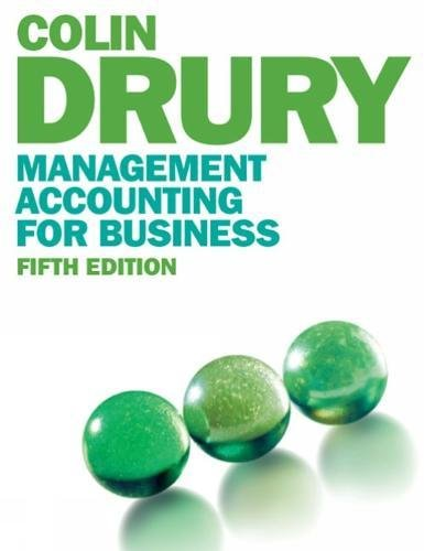 9781408060285: Management Accounting for Business