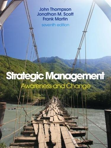 9781408064023: Strategic Management: Awareness & Change