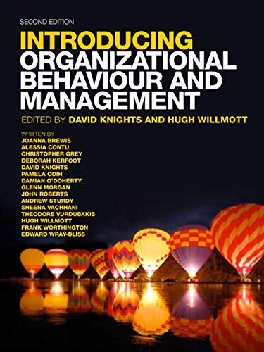 9781408064276: Organizational Behaviour & Management. by David Knights, Hugh Willmott