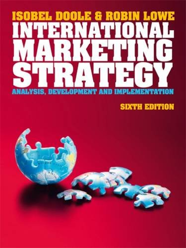 9781408064290: International Marketing Strategy (with CourseMate & eBook Access Card)