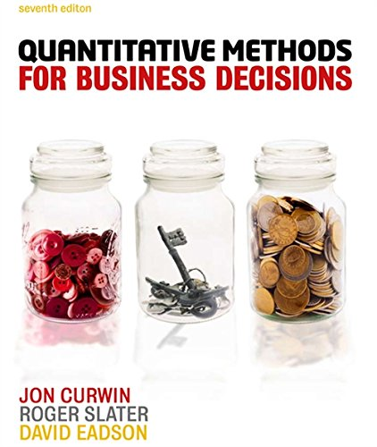 9781408064986: Quantitative Methods for Business Decisions (with CourseMate and eBook Access Card)