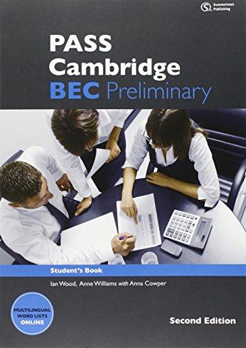 9781408067987: Pass Cambridge BEC Preliminary Student Book