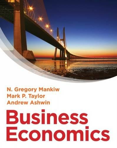 Business Economics: Mankiw, N. Gregory,