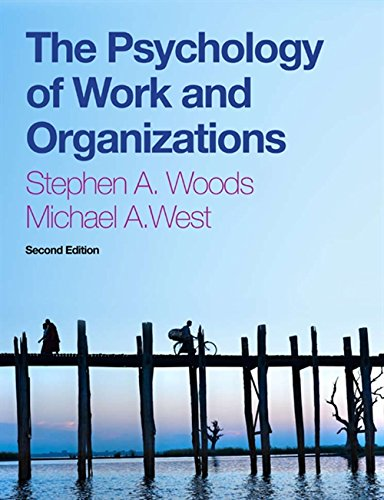 9781408072455: The Psychology of Work and Organizations