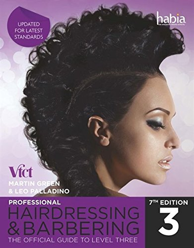 9781408073384: Professional Hairdressing & Barbering