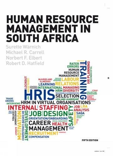 9781408074220: Human Resource Management in South Africa
