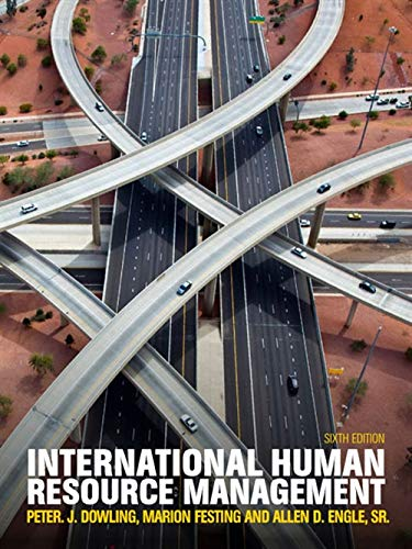 International Human Resource Management With Coursemate 6Ed (Pb 2016)