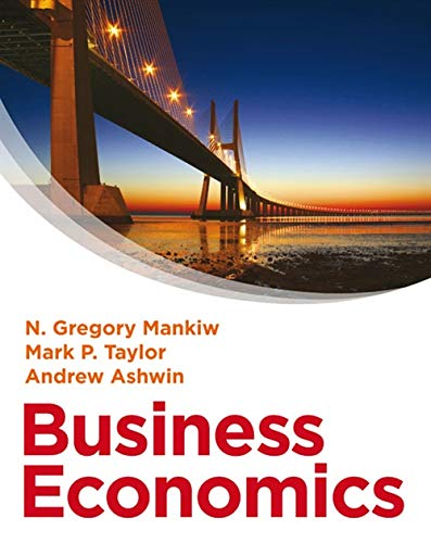 Business Economics: Mankiw, N. Gregory
