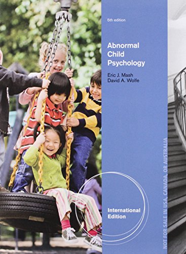 9781408077511: Abnormal Child Psychology