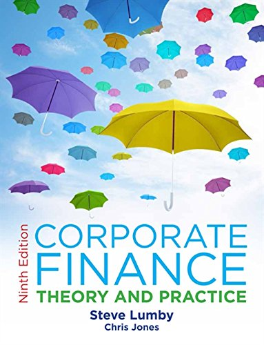 Corporate Finance: Theory and Practice: Lumby, Steve, Jones,