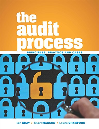 9781408081709: The Audit Process: Principles, Practice and Cases