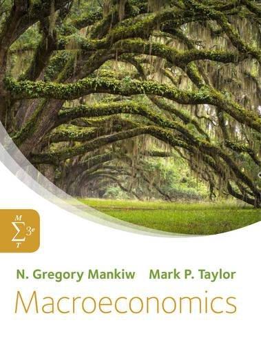 Macroeconomics: Mankiw, Taylor