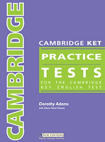 9781408087954: Cambridge Practice Tests KET Students Book with Audio CD & Answer Key
