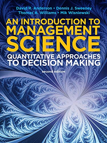 9781408088401: Introduction to Management Science: Quantative Approaches to Decision Making