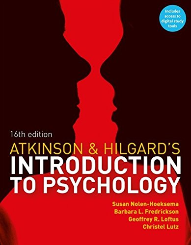 9781408089026: Atkinson & Hilgard's Introduction to Psychology: (with CourseMate and eBook Access Card)